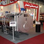 بویلر آبگرم فولادی سوپر سه پاس در نمایشگاه تاسیسات مشهد