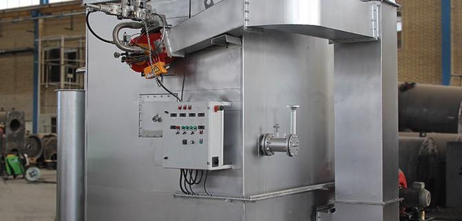 سوپر هیتر بخار superheated steam