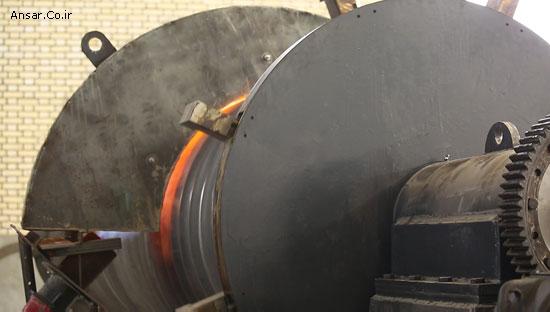 دستگاه نورد گرم کوره Corrugate گروه صنعتی انصار