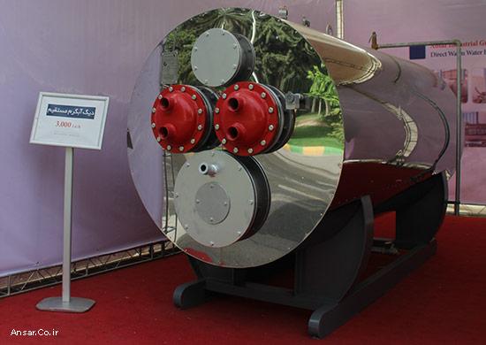 دیگ آبگرم مستقیم جهت تولید آبگرم بهداشتی و مصرفی فراوان