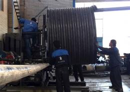 دستگاه CNC کویل بویلر روغن داغ