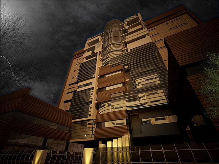 دیگ آبگرم و موتورخانه برج توسط گروه صنعتی انصار