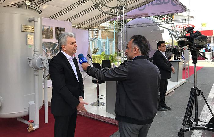 مصاحبه صدا و سیما با مدیر عامل گروه صنعتی انصار