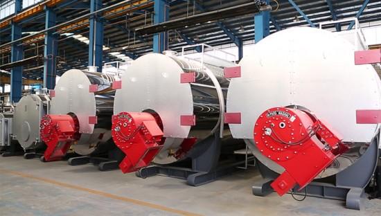 دیگ های آبداغ 4 میلیون کیلوکالری موتورخانه مرکزی فدک